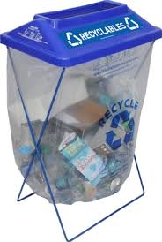 portable recycling bin