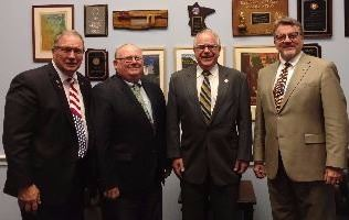 Blue Earth County Meets with Tim Walz