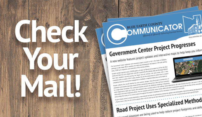 Check your mail! Latest Communicator is here.