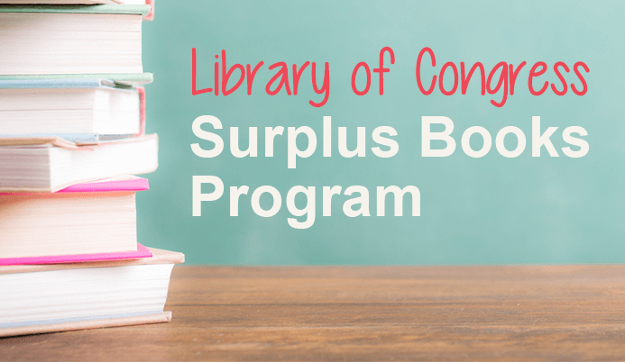 Library of Congress Surplus Books Program