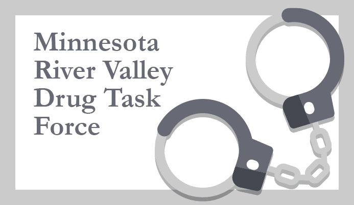 Minnesota River Valley Drug Task Force Handcuffs