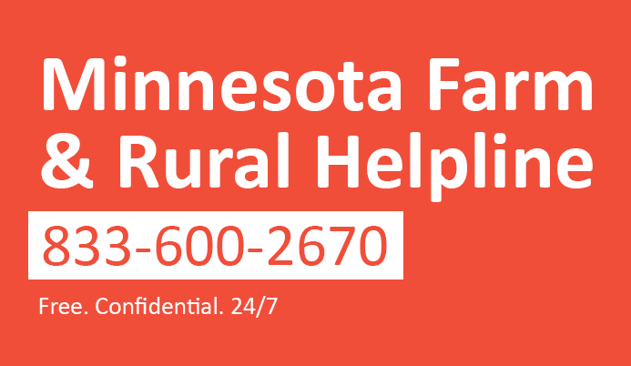 MN Farm and Rural Helpline Graphic