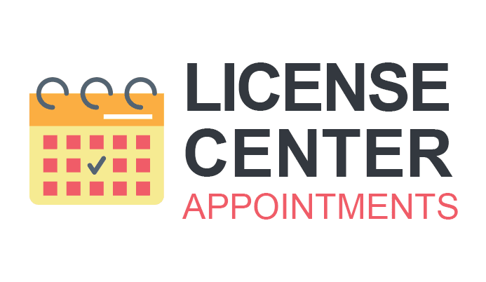 License Center Appointments