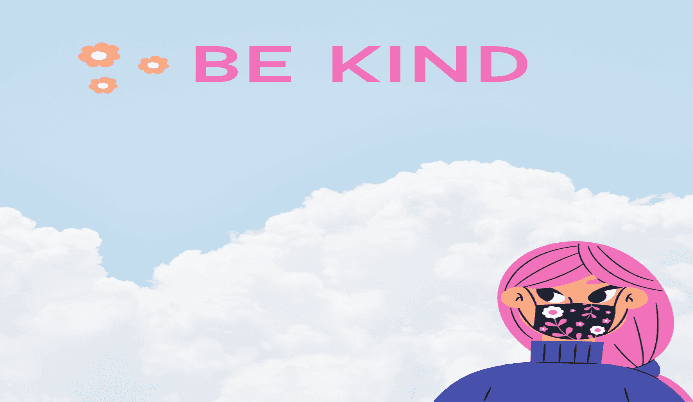 Be Kind, Wear a Mask website