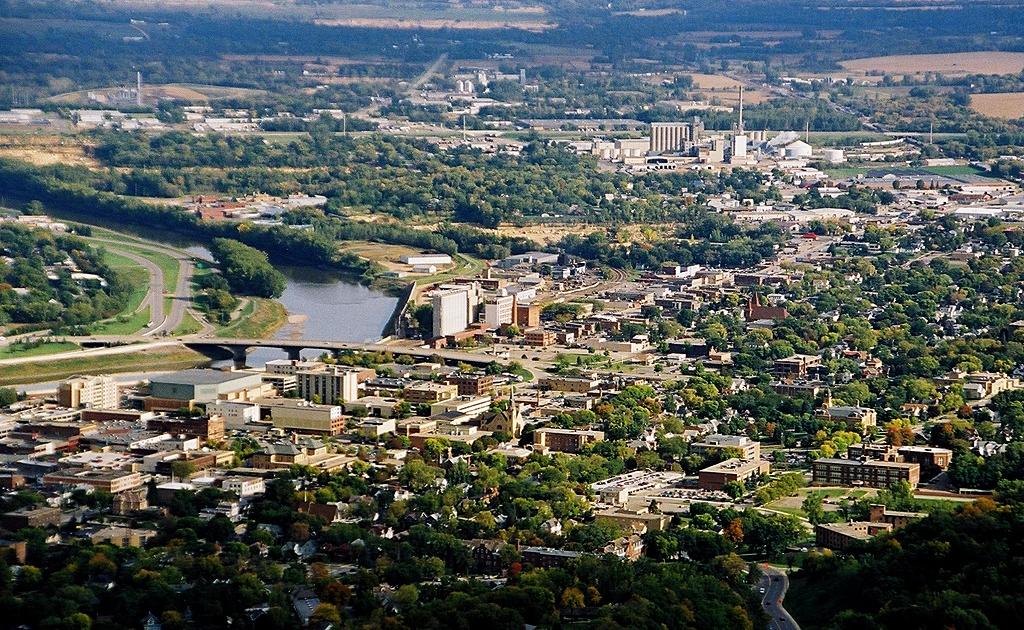 The City of Mankato - County Seat