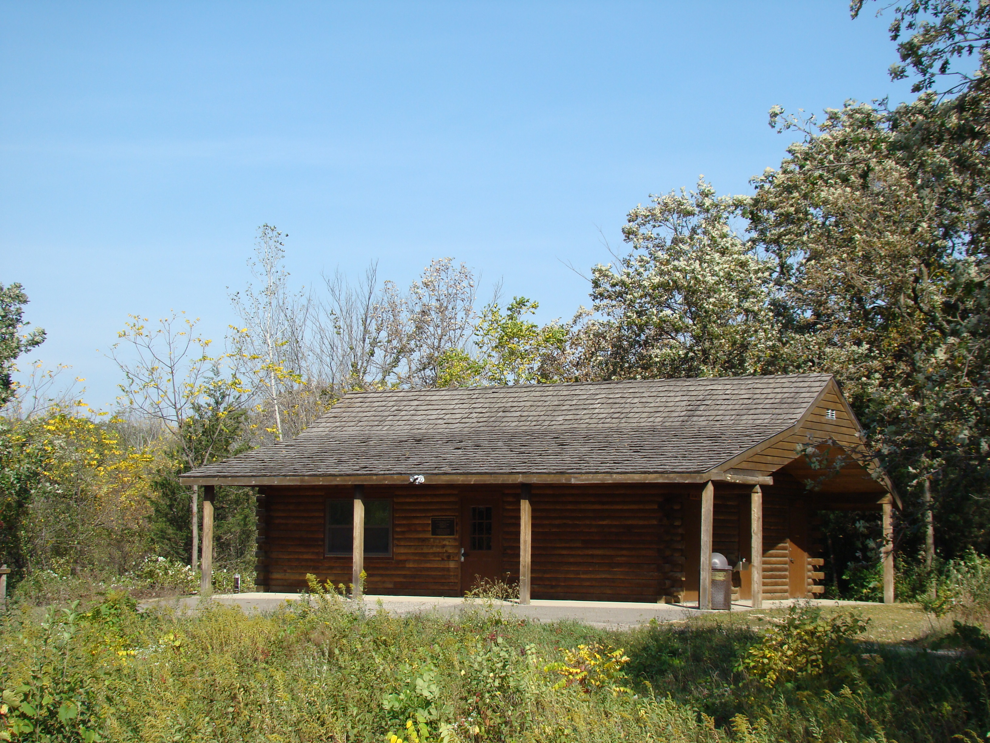 Log Cabin at Williams Nature Center