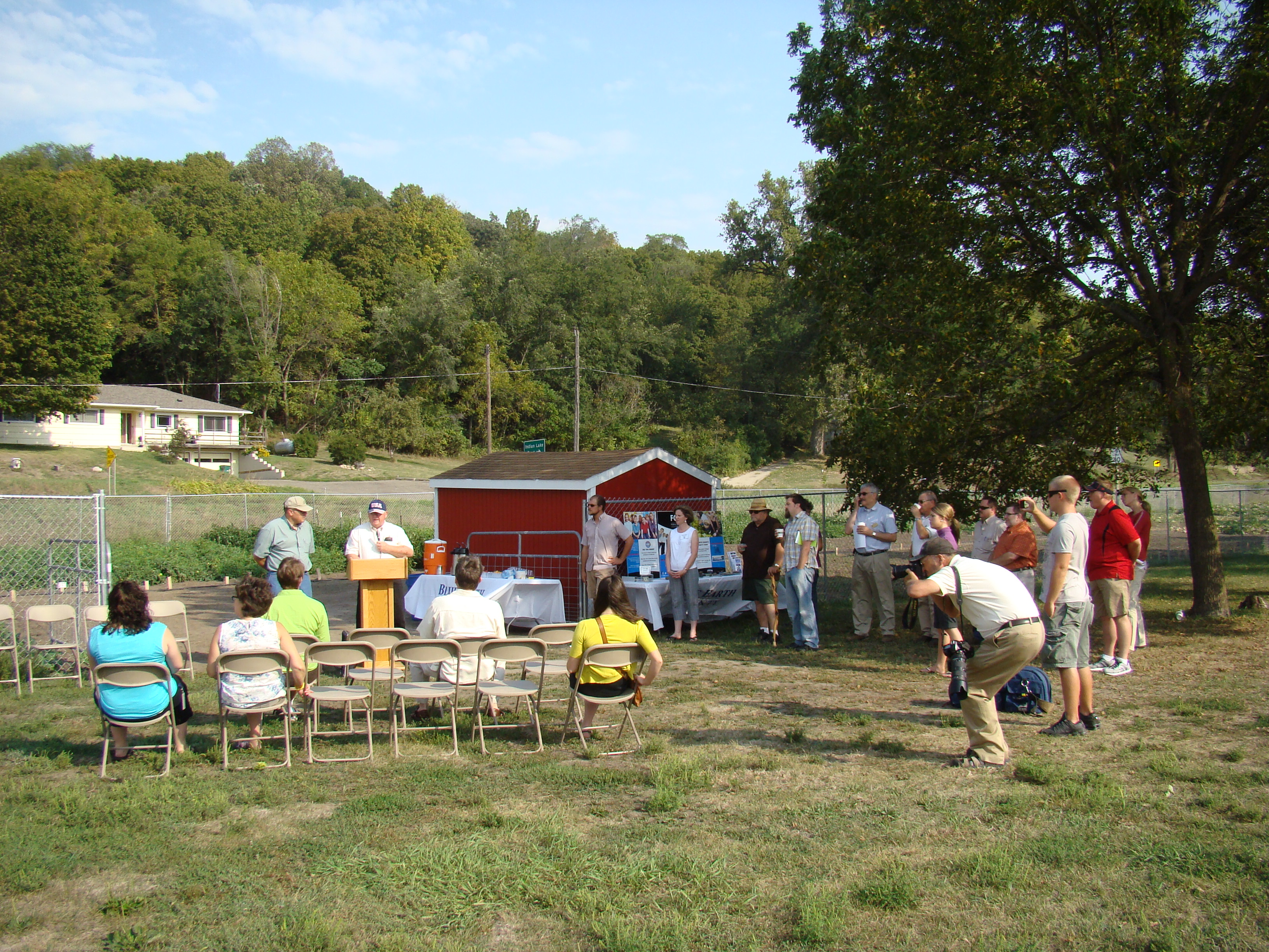 Open House Gathering at the Community Farm