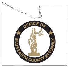 Blue Earth County Attorney Logo