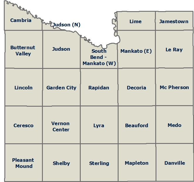 Public Land Survey Maps | Blue Earth County, MN - Official Website